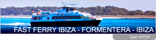 Ibiza Formentera ferry timetable. Schedules, reservations and offers of ferry tickets from Ibiza to Formentera and from Formentera to Ibiza. Passengers and passengers and car.