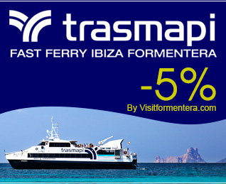 Schedules, reservations and offers of Ibiza and Formentera ferry with Trasmapi Fast Ferry.