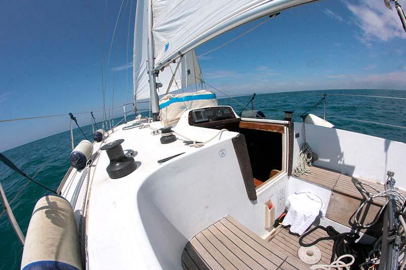 Excursiones en velero por la isla de Formentera.
