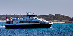 Schedules and ferry reservations between Ibiza and Formentera.