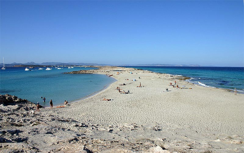 playa de ses illetes dove si trova