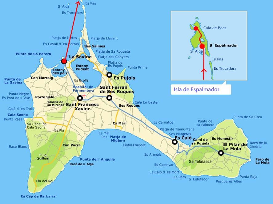 Guia De Playas De La Isla De Formentera Conoce Todas Las Playas